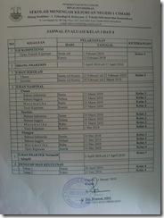 Jadwal Ujian 2010